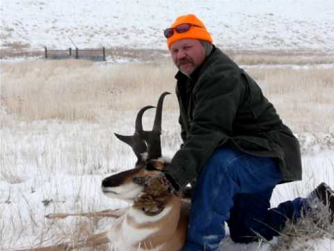 """J.T.'s  2009 Wyoming Boone and Crockett Record Book Antelope Green Score 83"""""""