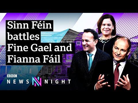 Irish Election: Is there a Sinn Féin surge? - BBC Newsnight