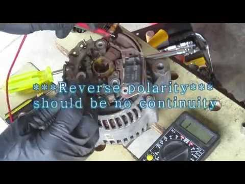 How to Diagnose and Repair Toyota Alternator  – Disassemble and Reassemble