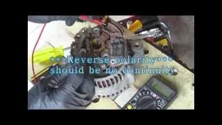 How to Diagnose and Repair Toyota Alternator - Disassemble and Reassemble