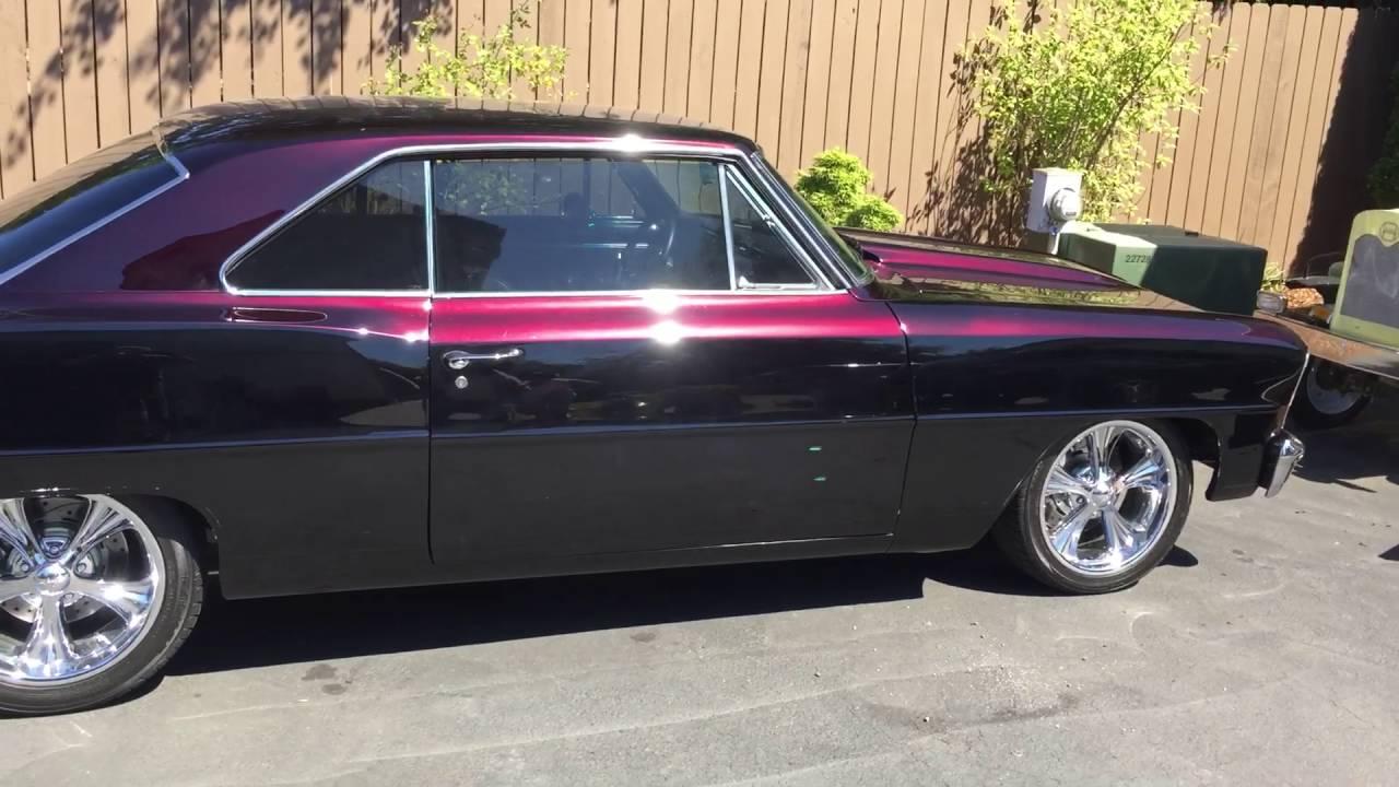 Black Pearl Car Paint Job