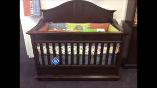 Onda Convertible Crib By Kids Only Furniture & Accessories.wmv