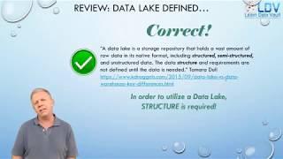 Defining a Data Lake: Part 4 data warehouse vs data lake