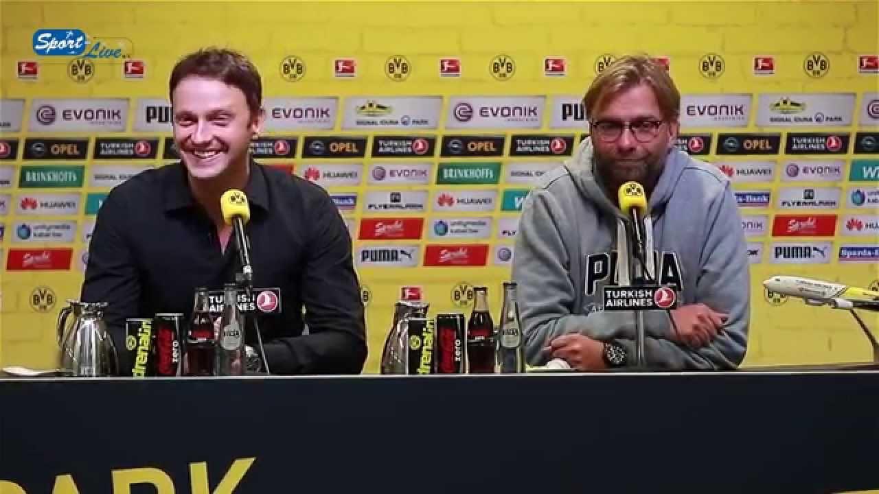 Jürgen Klopp und das Freistoßspray