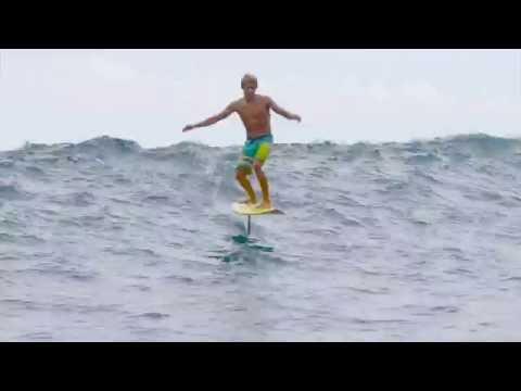 Kai Lenny Hydrofoil Surfing