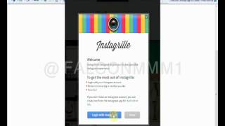 برنامج instagrille لإستخدام الـ instagram على الويندوز