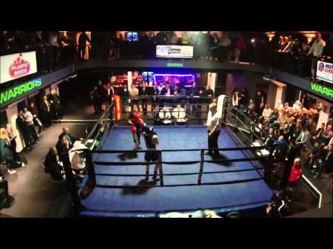 Warriors Boxing - Dillan Eddy vs Freddie Wright