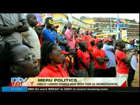 Meru leaders dismiss NASA Meru tour as inconsequential