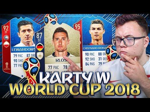 FIFA WORLD CUP 2018 - NOWE KARTY, IKONY I REPREZENTACJA POLSKI! ⚽