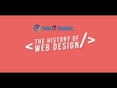 The History Of Web Design | Think IT