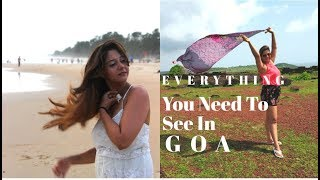 Everything You Need to see in Goa| South and North Goa Trip | Minsha Kapoor