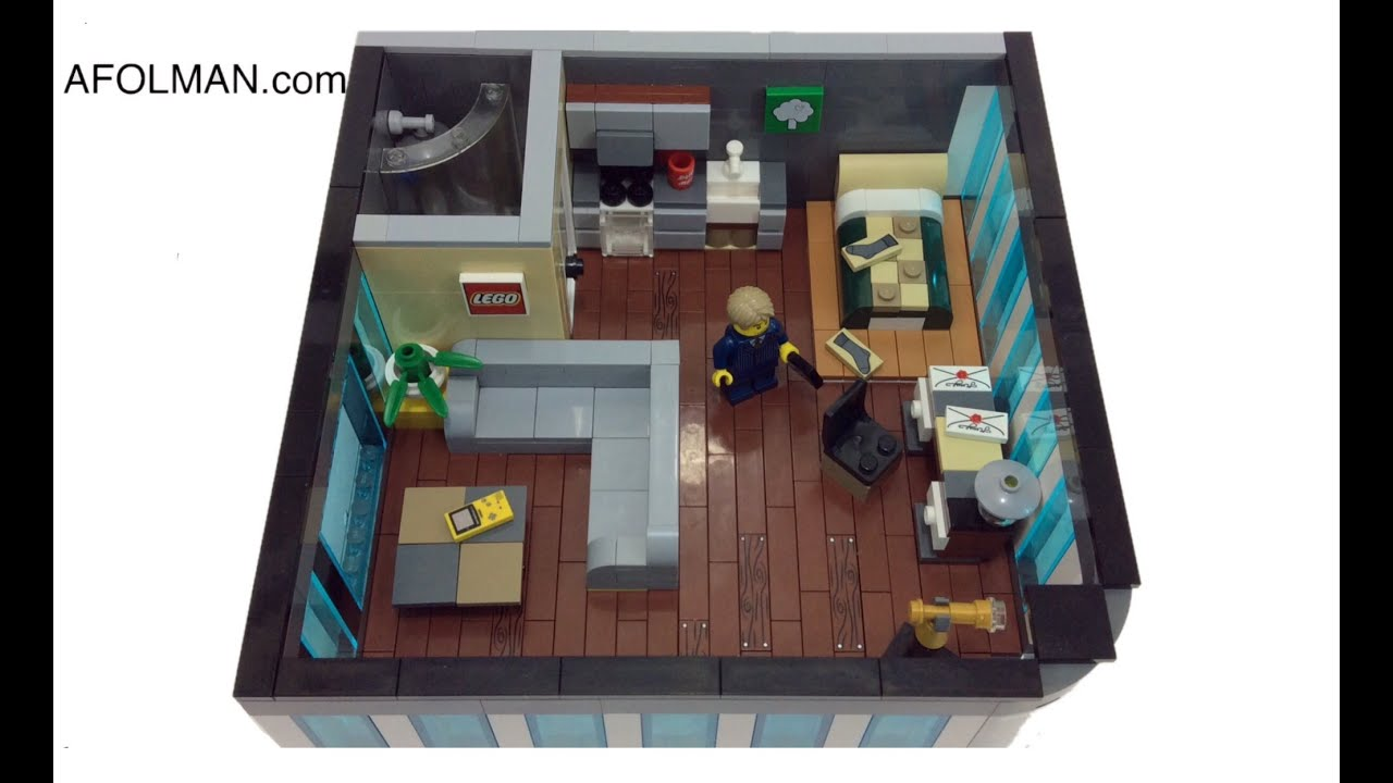 Lego City Apartment