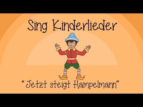 Jetzt steigt Hampelmann - Kinderlieder zum Mitsingen | Sing Kinderlieder