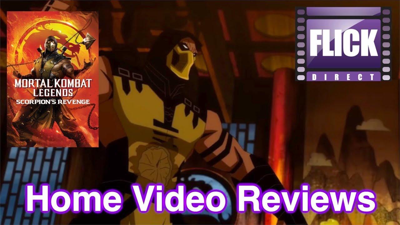 mortal kombat scorpions revenge review