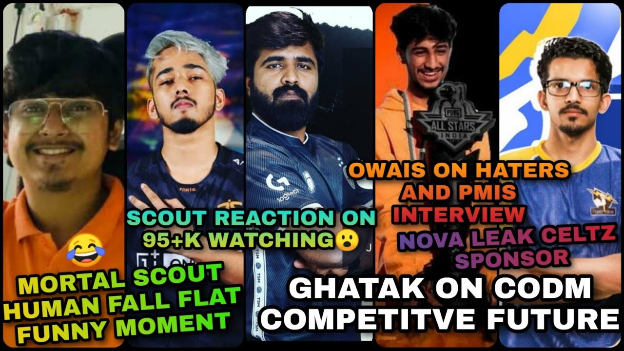 GHATAK POSITIVE REPLY TO BEERBICEPS | OWAIS & SCOUT INTERVIEW | MORTAL AND SCOUT HUMAN FALL😂 | NOVA
