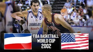 Yugoslavia v USA - Classic Full Games | FIBA Basketball World Cup 2002