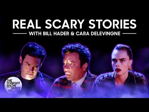 Amy James - FUNNY: Bill Hader & Jimmy Fallon Tell Real-Life Scary Stories