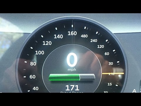 Tesla Model S P85D v62 with Performance Update Testing 060 MPH in 305 Secds