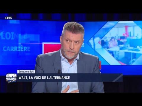BREAKING NEWS : 11.01.2020 / Walt. sur BFM! Yves Hinnekint présente l'association Walt.
