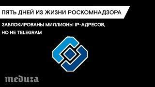 Пять дней борьбы Роскомнадзора с Telegram