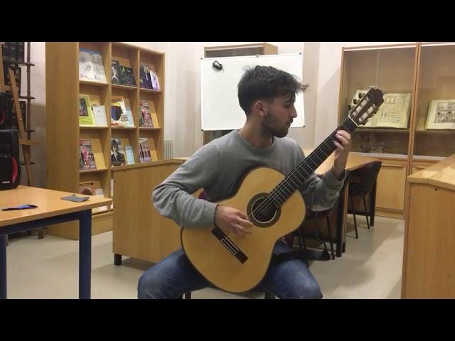 Estudio XII, by H. Villa-Lobos. Pepe Santos Fernández