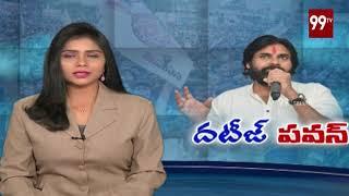 Janasena Chief Pawan kalyan Strong Supports to Srikakulam Cyclone Victims | #janasena | 99 TV Telugu