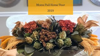 Moms Fall Home Tour 2019