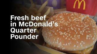 asmr eating 'mcdonalds