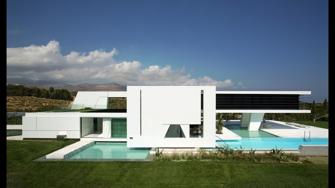 Impressive Ultra Modern House In Athens