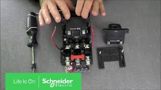 Replacing Coils on NEMA Size 00, 0 & 1 Type S Starters | Schneider Electric  Support - YouTubeYouTube