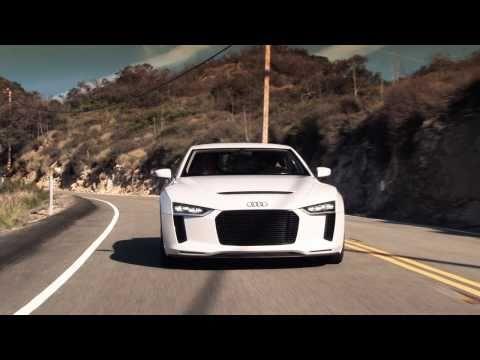 Audi Quattro Concept - First Drive
