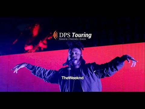 DPS Provides Lighting and SFX for The Weeknd Live at Lollapalooza 2015 | DPS Entertainment