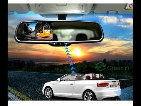 "Nissan / Infiniti - видеорегистратор в штатном салонном зеркале, HD качество на ""ножке"""