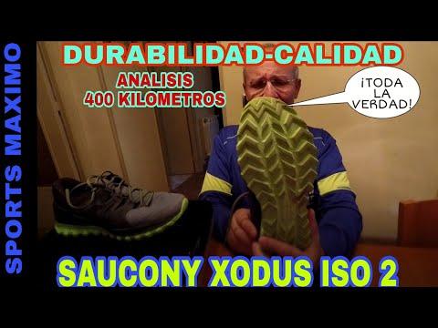 TRAIL RUNNING.SAUCONY XODUS ISO 2 Y TODA LA VERDAD CON 400