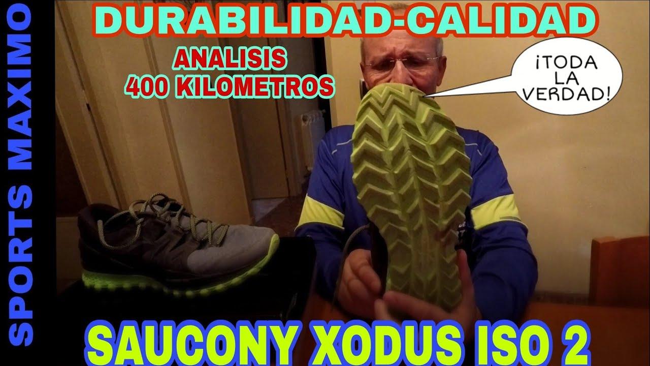 TRAIL RUNNING.SAUCONY XODUS ISO 2 Y TODA LA VERDAD CON 400 KILOMETROS