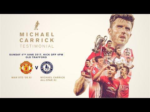 Michael Carrick Testimonial Full Match - 1st Half (Man United 08 XI vs All-Stars XI)