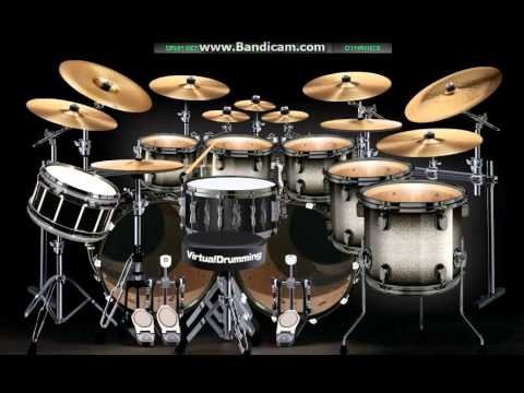 Virtual Drum Jamrud - Waktuku Mandi