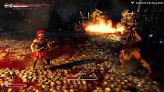 RYSE  SON OF ROME XBOX ONE: matando glott chefe minotauro fase 5