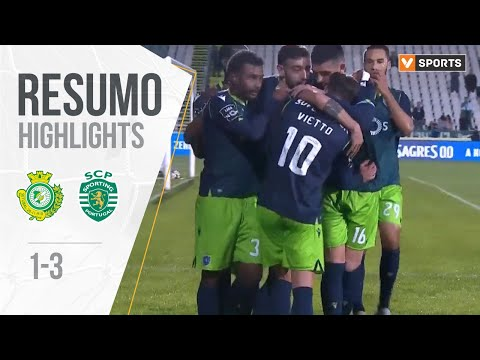Highlights | Resumo: Vitória FC 1-3 Sporting (Liga 19/20 #16)