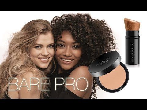 BRAND NEW FOUNDATION! BARE PRO! REVIEW / DEMO
