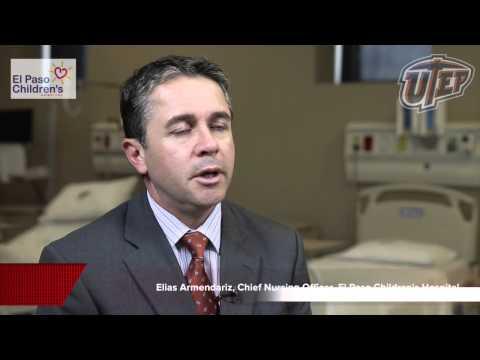 Elias Armendariz, Chief Nursing Officer, El Paso Children's Hospital,