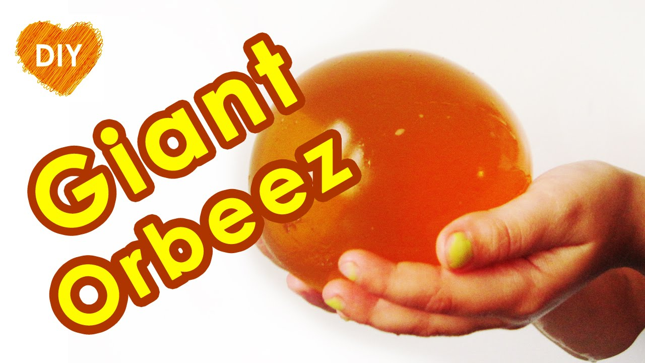 orbeez giant easy diy how to make giant orbeez at home giant