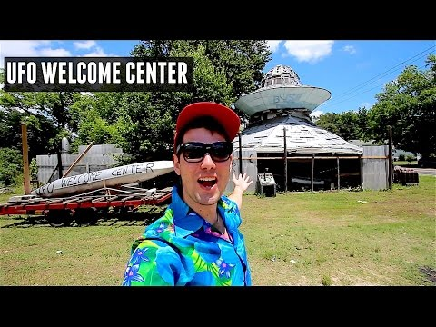 UFO Welcome Center Roadside Attraction