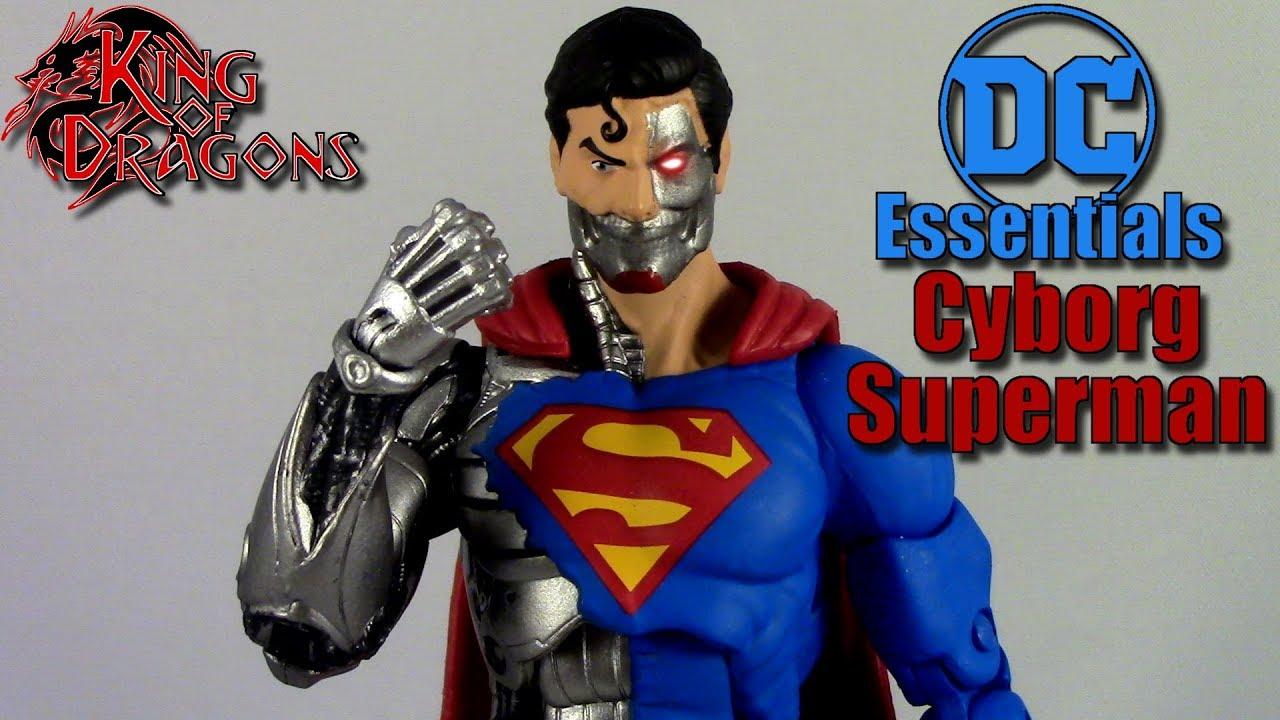 EN STOCK DC Collectibles Essentials Cyborg Superman Action Figure