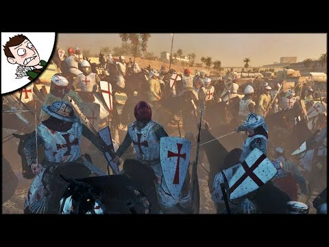 EPIC SIEGE OF JERUSALEM - Medival Kingdoms 1212AD Mod Gameplay