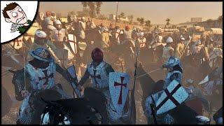 EPIC SIEGE OF JERUSALEM - Medival Kingdoms 1212AD Mod Gameplay
