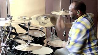 Crush Drums - Brent Easton solo feat. Chameleon Birch