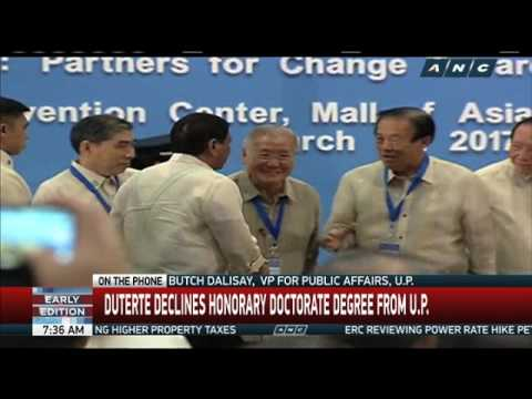 UP asked: Why even consider an honorary degree for Duterte?