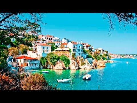Skiathos Greece And Koukounaries Beach Youtube