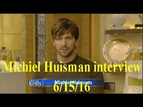Michiel Huisman  Live! With Kelly cohost Jerry O'Connell 61516 June 15, 2016